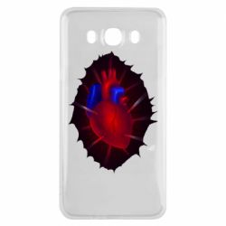 Чехол для Samsung J7 2016 Heart and blood vessels