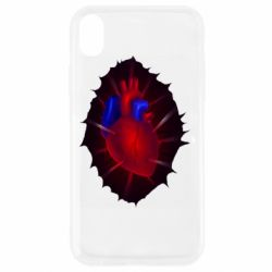 Чехол для iPhone XR Heart and blood vessels