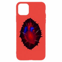 Чехол для iPhone 11 Heart and blood vessels