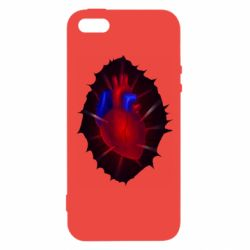 Чехол для iPhone5/5S/SE Heart and blood vessels