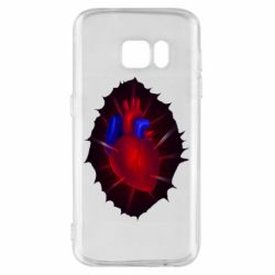 Чехол для Samsung S7 Heart and blood vessels