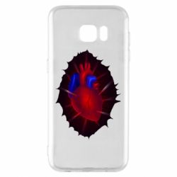 Чехол для Samsung S7 EDGE Heart and blood vessels