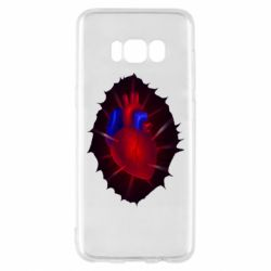 Чехол для Samsung S8 Heart and blood vessels
