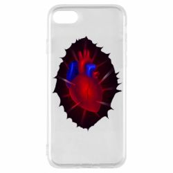 Чехол для iPhone 8 Heart and blood vessels