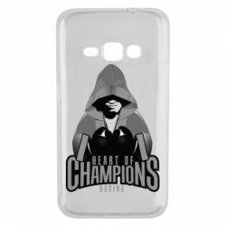 Чехол для Samsung J1 2016 Heart of Champions