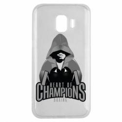 Чехол для Samsung J2 2018 Heart of Champions