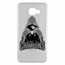 Чехол для Samsung A7 2016 Heart of Champions