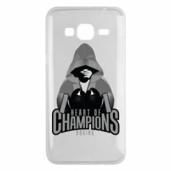 Чехол для Samsung J3 2016 Heart of Champions