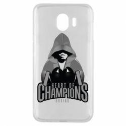 Чехол для Samsung J4 Heart of Champions