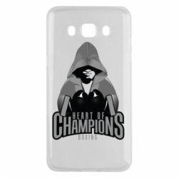 Чехол для Samsung J5 2016 Heart of Champions