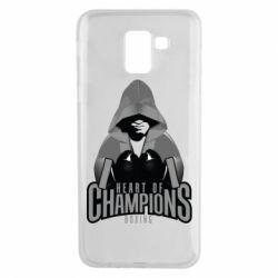 Чехол для Samsung J6 Heart of Champions