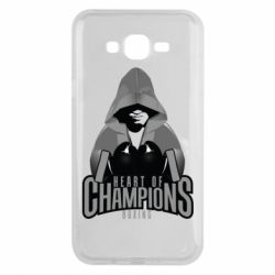 Чехол для Samsung J7 2015 Heart of Champions