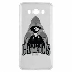 Чехол для Samsung J7 2016 Heart of Champions