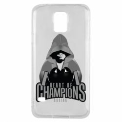 Чехол для Samsung S5 Heart of Champions