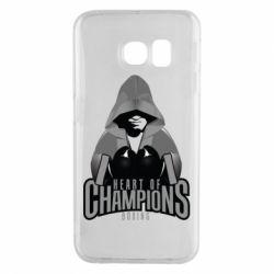Чехол для Samsung S6 EDGE Heart of Champions
