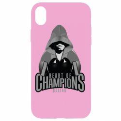 Чехол для iPhone XR Heart of Champions