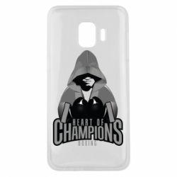 Чехол для Samsung J2 Core Heart of Champions