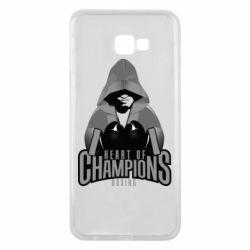 Чехол для Samsung J4 Plus 2018 Heart of Champions