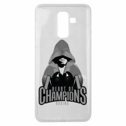 Чехол для Samsung J8 2018 Heart of Champions
