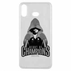 Чехол для Samsung A6s Heart of Champions