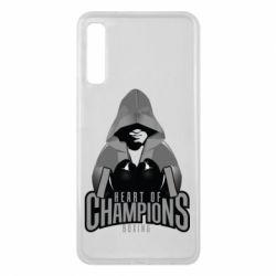 Чехол для Samsung A7 2018 Heart of Champions