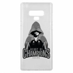 Чехол для Samsung Note 9 Heart of Champions