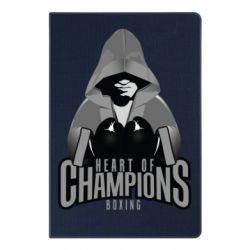 Блокнот А5 Heart of Champions