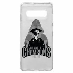 Чехол для Samsung S10+ Heart of Champions