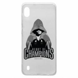 Чехол для Samsung A10 Heart of Champions