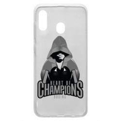 Чехол для Samsung A20 Heart of Champions