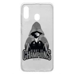 Чехол для Samsung A30 Heart of Champions