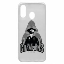 Чехол для Samsung A40 Heart of Champions