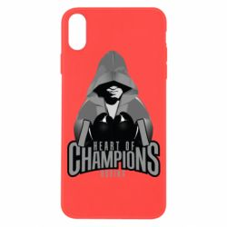 Чехол для iPhone X/Xs Heart of Champions