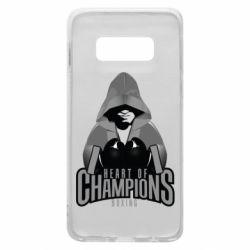 Чехол для Samsung S10e Heart of Champions
