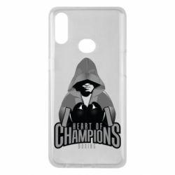 Чехол для Samsung A10s Heart of Champions
