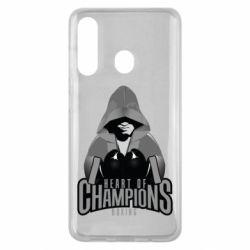 Чехол для Samsung M40 Heart of Champions