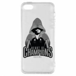 Чехол для iPhone5/5S/SE Heart of Champions