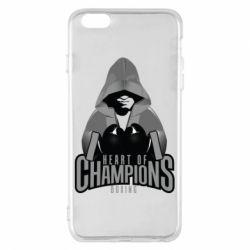 Чехол для iPhone 6 Plus/6S Plus Heart of Champions