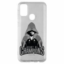 Чехол для Samsung M30s Heart of Champions