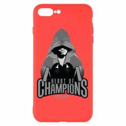 Чехол для iPhone 7 Plus Heart of Champions