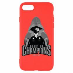 Чехол для iPhone 8 Heart of Champions