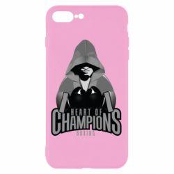 Чехол для iPhone 8 Plus Heart of Champions