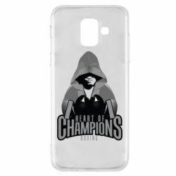Чехол для Samsung A6 2018 Heart of Champions