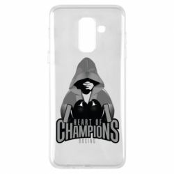 Чехол для Samsung A6+ 2018 Heart of Champions