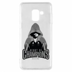 Чехол для Samsung A8 2018 Heart of Champions