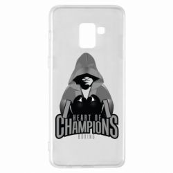 Чехол для Samsung A8+ 2018 Heart of Champions