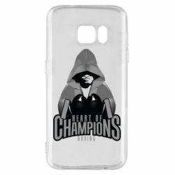 Чехол для Samsung S7 Heart of Champions