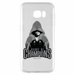 Чехол для Samsung S7 EDGE Heart of Champions