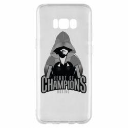 Чехол для Samsung S8+ Heart of Champions