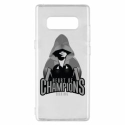 Чехол для Samsung Note 8 Heart of Champions